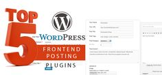 Hand-picked for you! Make the guest posting easy on your WordPress website....