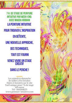 Stages de Peinture Intuitive Tourisme dans le Perche Venus, Stage, Watercolor Tattoo, France, Creative, Tourism, Paint, Temp Tattoo, Venus Symbol