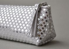 Image of Trousse Berlingot Taille S silver stars