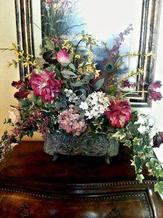 18 Excellent Silk Flower Arrangements For Dining Room Table ...