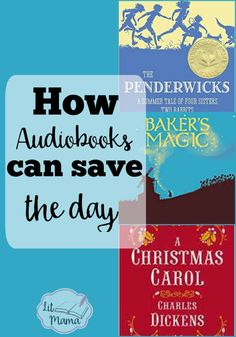 Audiobooks can save the day for your homeschool or any time you're too busy to sit down and read with your kids