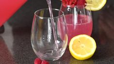 Pink Lemonade Vodka Punch - Shake Drink Repeat Pink Lemonade Vodka Punch Recipe, Citrus Vodka, Punch Recipes, Lemon Lime, Shake, Repeat, Wine Glass, Raspberry, Drinks