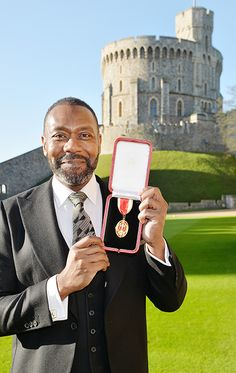 Sir Lenny Henry has received a knighthood from the Queen for his services to drama and charity and said that the experience was 'wonderful' and 'mind-blowing'