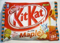 Japanese Maple Kit Kats! I LOVE maple anything! Sounds so good!