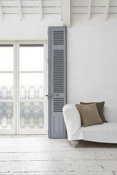 #greys #shutters #white #interior #design