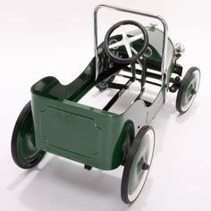BAGHERA GREEN CLASSIC RIDE IN CAR PEDAL CAR