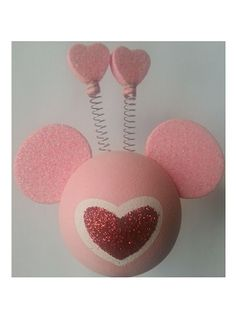 Disney Antenna Topper - Valentine's Day - Mickey Mouse Heart