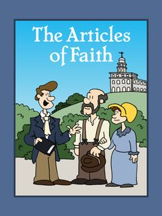 The Articles of Faith printable LDS Coloring Book.