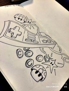 #sketchaday #artlove #penandink #nerds #art #sketchbook #artists #imayneednewglasses #pencils #acompanyofn3rds #sanctuary #n3rds #prismacolor #moleskine #camu #nerdink #tatts #tattoo #tattoodesign #nerdtattoo