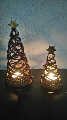 Töpfern, Weihnachtsbäume
