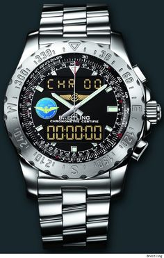 Breitling Airwolf limited edition Watch for Naval Aviation