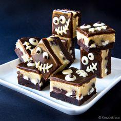 Black & White Brownies | Reseptit | Kinuskikissa White Brownies, Tiramisu, Black And White, Baking, Ethnic Recipes, Party, Desserts, Food, Celebrations