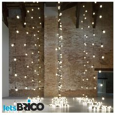Preciosas tiras de lucecitas son la última en tendencia d iluminación