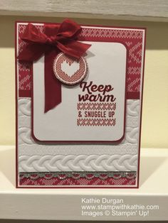 Stampin' Up! Wrapped in Warmth