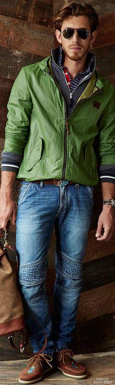 Michael Bastian Spring 2015 | Menswear | Men's Fashion | Men's Casual Outfit | Moda Masculina | Shop at designerclothingfans.com
