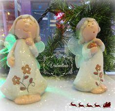 Πήλινα Αγγελάκια!!! Christmas Ornaments, Holiday Decor, Home Decor, Decoration Home, Room Decor, Christmas Jewelry, Interior Design, Christmas Decorations, Home Interiors