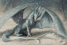 Winter Dragon  by =Lumaris