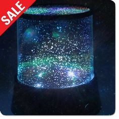 Lights & LED - Night Stars Bedroom Lamp - Gadgets and Gear