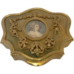 19th Century Jewelry Box with Portrait from Antiques of River Oaks on Ruby Lane $1,295 - Questions Call: 713-961-3333