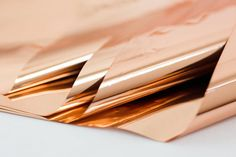 Rose Gold Copper Mylar  Copper Mylar Tissue Paper by SoireeSupply