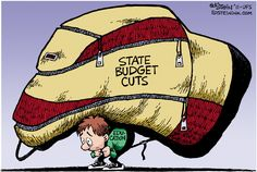 Education carrying state budget cuts