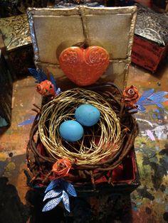 Bird's Nest Art - Gary Reef