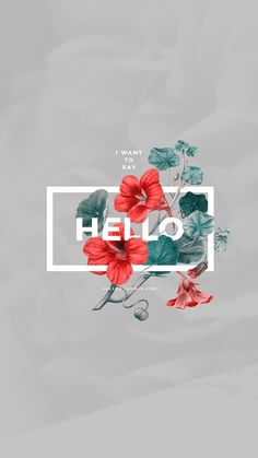 Floral Typography by Kaespo Design