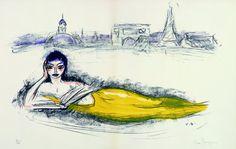 Kees van Dongen - La Seine (1962)