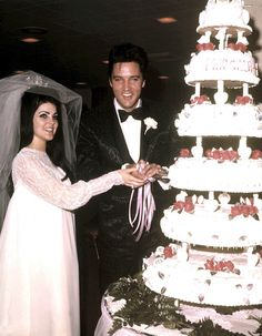 1967: le king Elvis et Priscilla Beaulieu se marient expressément à Las Vegas !
