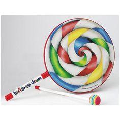 "cool Remo eight"" Lollipop Drum"
