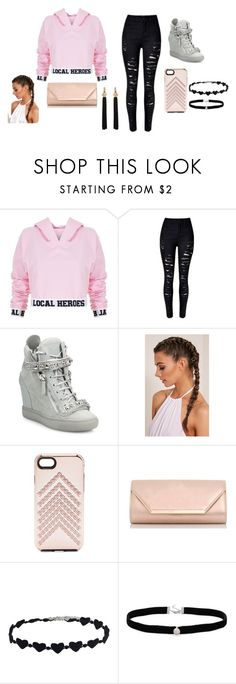 """""""local heroes"""" by ibored111 ❤ liked on Polyvore featuring Local Heroes, Giuseppe Zanotti, Rebecca Minkoff, Dorothy Perkins, Amanda Rose Collection, Yves Saint Laurent and beautiful"""