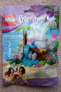 Lego Friends Turtle's Little Paradise 43 Pieces Series 4 Collectable 673419211864 | eBay