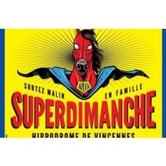 Superdimanche, c'est l'événement familial qui va bousculer vos dimanches moroses d'hiver ! Direction l'Hippodrome Paris-Vincennes pour profiter de nombreuses animations et activités autour du ...