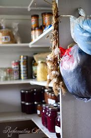 Storing preserved food