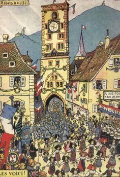 Ribeauvillé / Hansi 1918