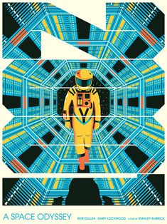 """"""" 2001: A Space Odyssey """"by  Matt Chase"""