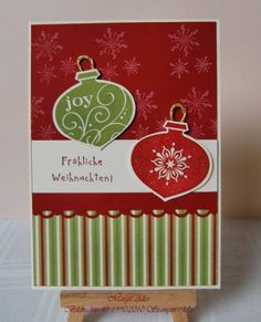 - Christmas Card - by MargitsSchatztruhe - Cards and Paper Crafts at Splitcoaststampers