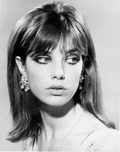 is it odd that i like this haircut? seems strikingly contemporary for being an image for the 1960's. (save the eye makeup)