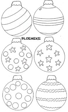 Christmas coloring page Christmas Scenes, Christmas Colors, Winter Christmas, Kids Christmas, Christmas Ornament Coloring Page, Xmas Ornaments, Christmas Decorations, Christmas Templates, Christmas Printables