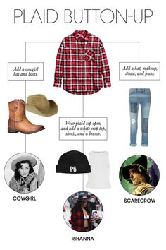 9 Halloween Costumes You Can With Pieces Make From Your Closet  sc 1 st  Pinterest & 9 Halloween Costumes You Can With Pieces Make From Your Closet ...