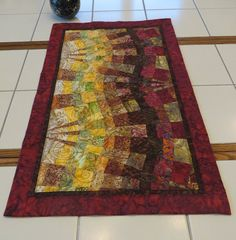 Handcrafted Table Runner Wall Hanging Art by Quiltsbysuewaldrep, $100.00