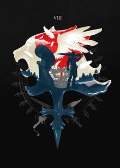 Gunblades and Angels  #Gunblade #FinalfantasyVIII #Rinoa #Squall #Angels