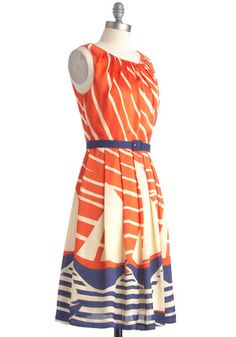 I think my mom wore a dress very much like this to the 1980 World's Fair in Knoxville. Sweet!
