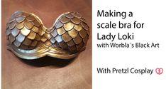 Lady Loki Boobies tutorial with Black Worbla