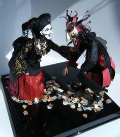 As fantásticas esculturas de papel de Sher Christopher |