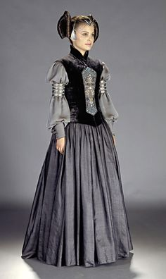 Star Wars Episode II Attack of the Clones Padme Amidala Packing Dress