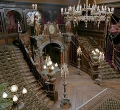 stairs fit for the Adams family