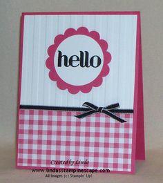 Sweet n Simple Hello