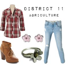 District 11 by fandomsfangirl on Polyvore featuring Billabong, Seychelles, Shota Suzuki and Shaun Leane