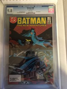 Batman #408 CGC 9.8 Batman Comics, Dc Comics, Going Solo, Jason Todd, New Adventures, Joker, Jokers, Comedians, The Joker